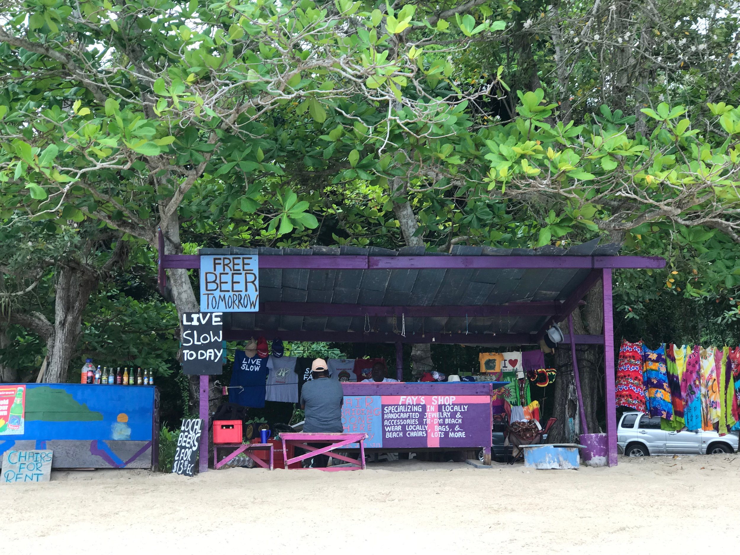 Colourful and beautiful Bequia