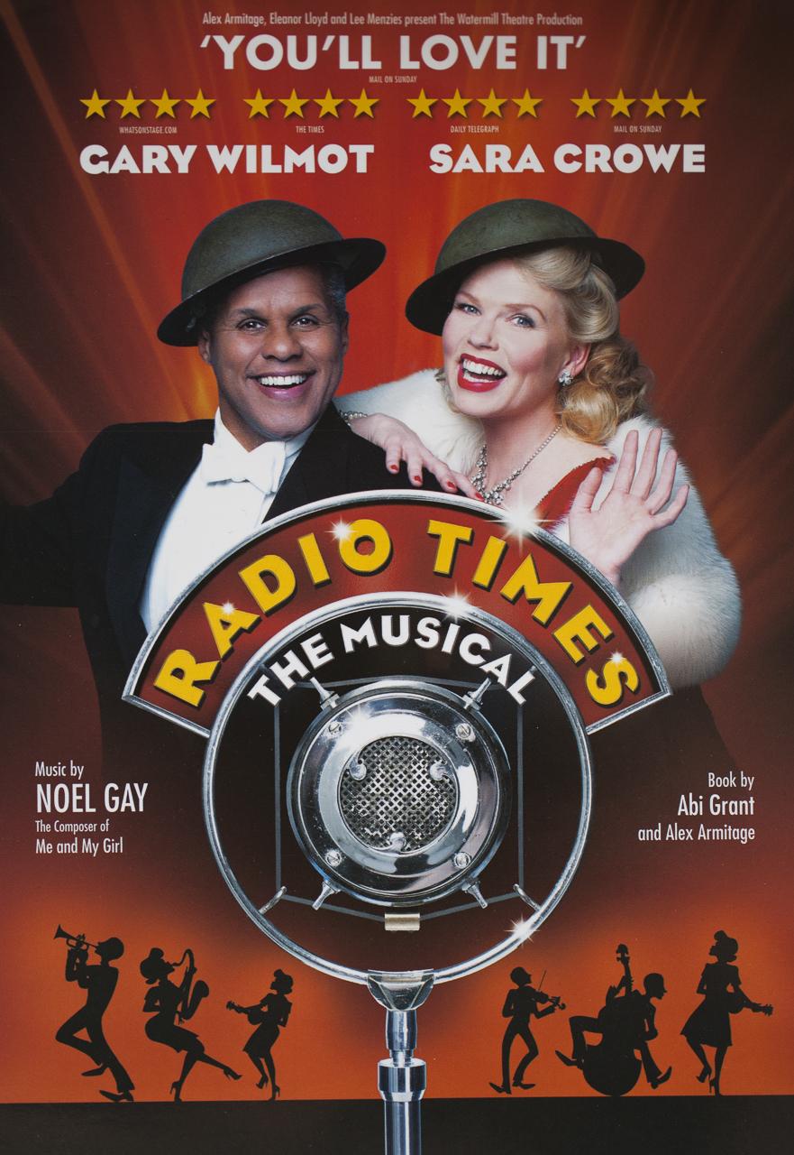 Gary Wilmot & Sara Crowe for Radio Times
