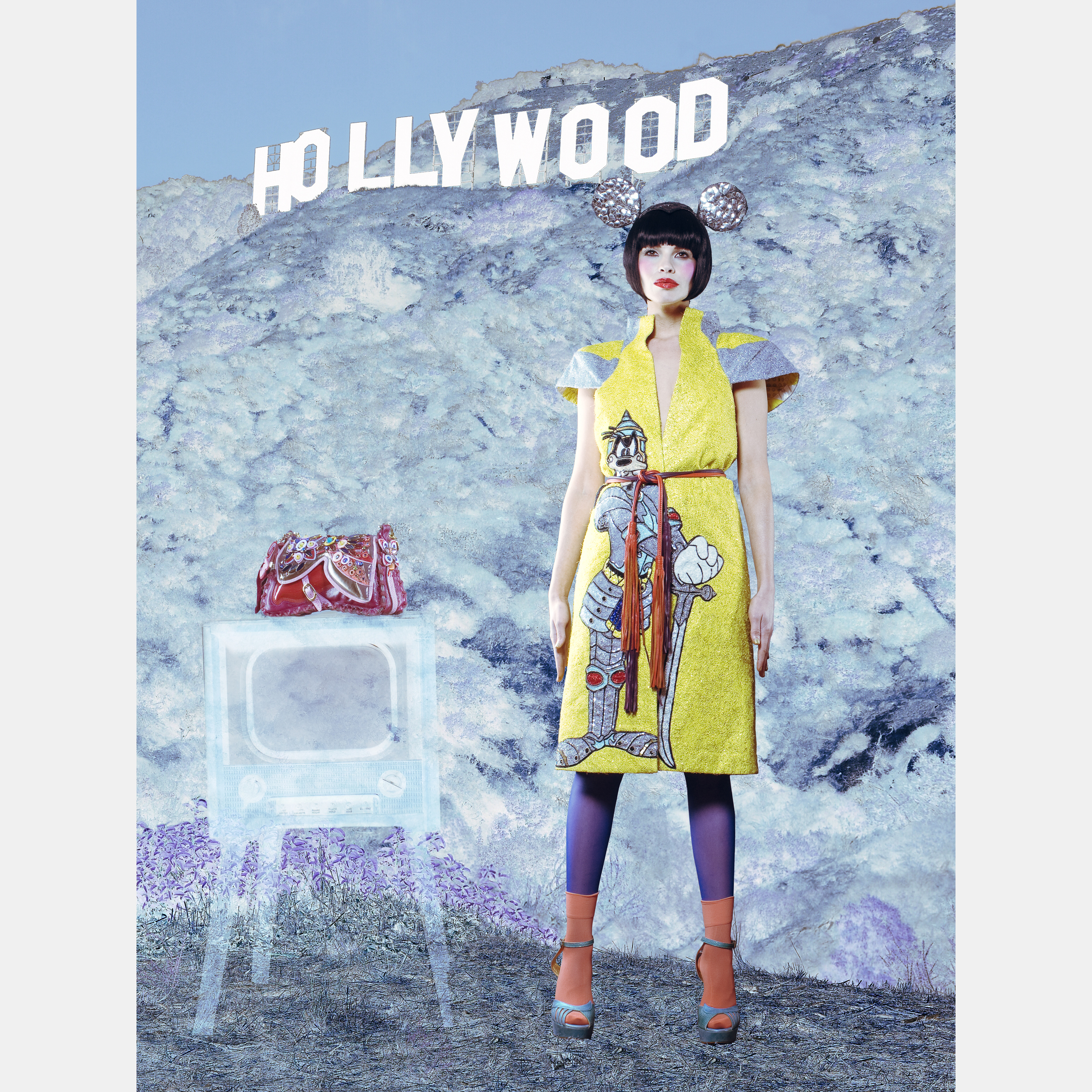 Hollywood Starlet Editorial