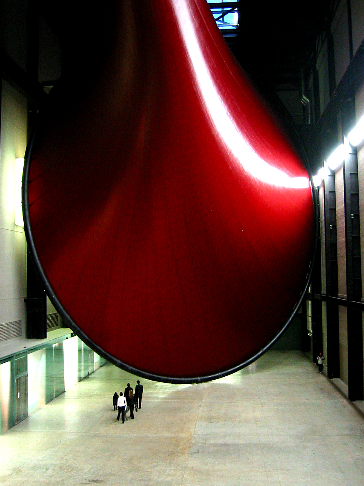 Marsyas by Anish Kapoor