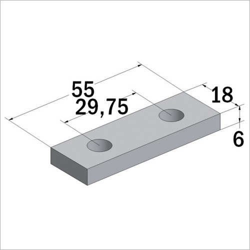 104452 - Gegenplatte für 104451