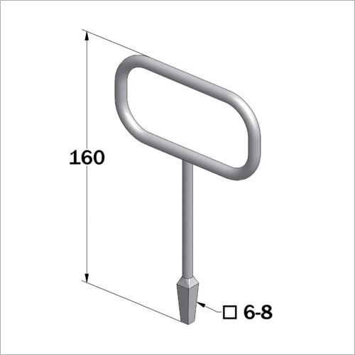 29910 - Vierkantschlüssel für Zungenschloß