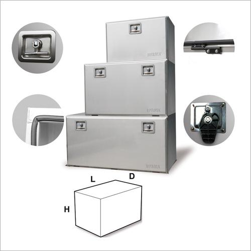 208008 -EUREKA 800Edelstahl-Werkzeugbox