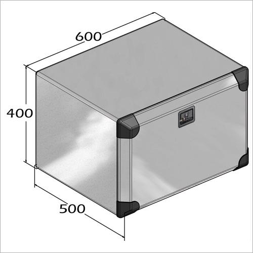 208801 -Werkzeugkasten Blech verzinkt 600x500x400mm