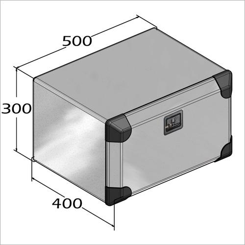 208811 -Werkzeugkasten Blech verzinkt 500x400x300 mm