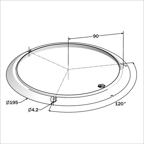 540401 -Deckenleuchte rund DM 19,5 cm, 18 LED