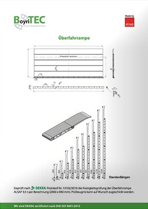 BOYRITEC Überfahrrampe Katalog 2018