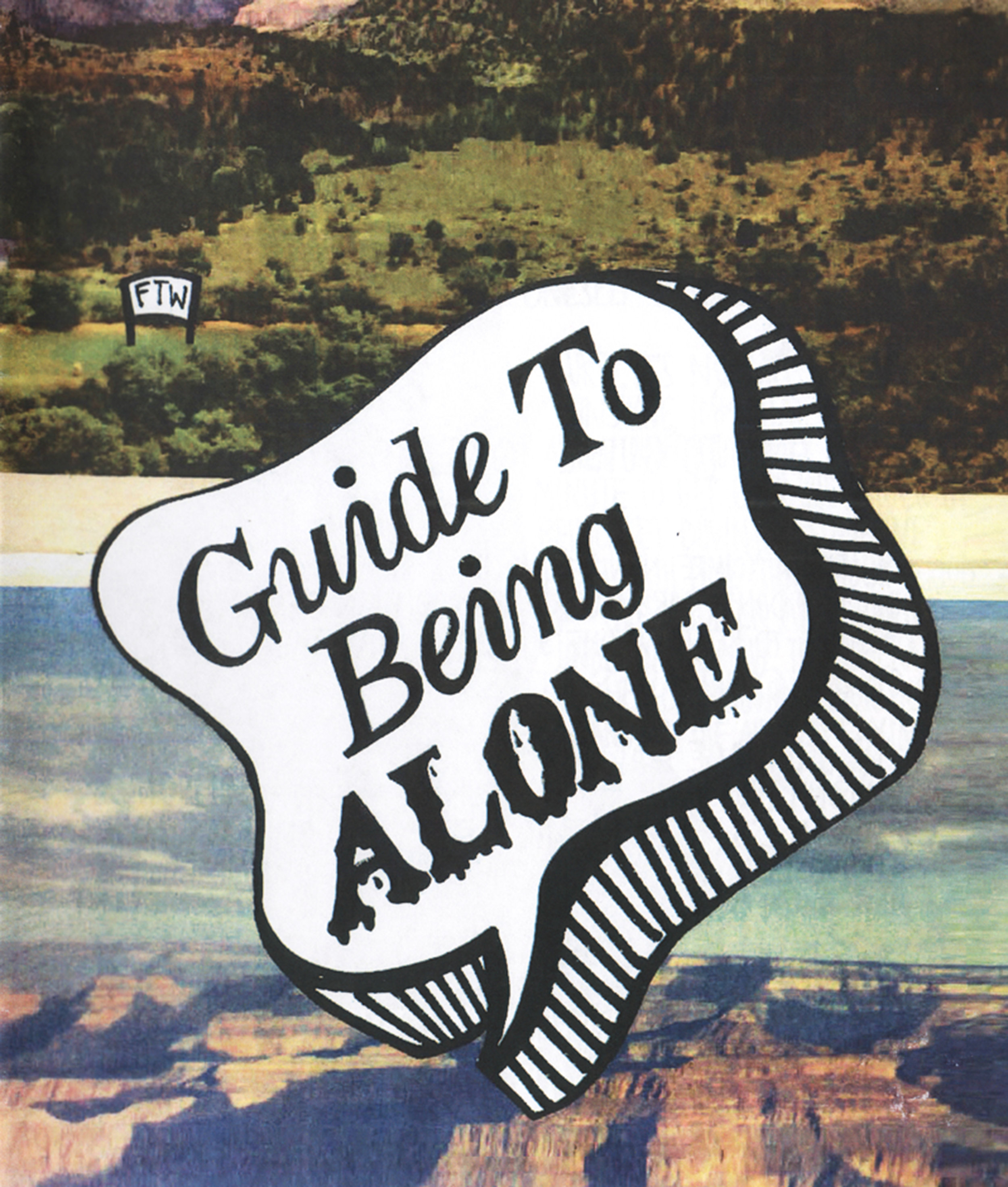 Guide To Being Alone Zine Julia Arredondo