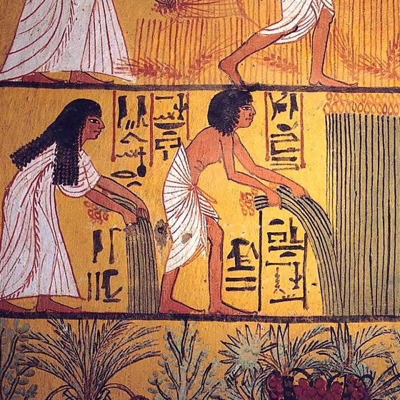 Como os egípcios faziam