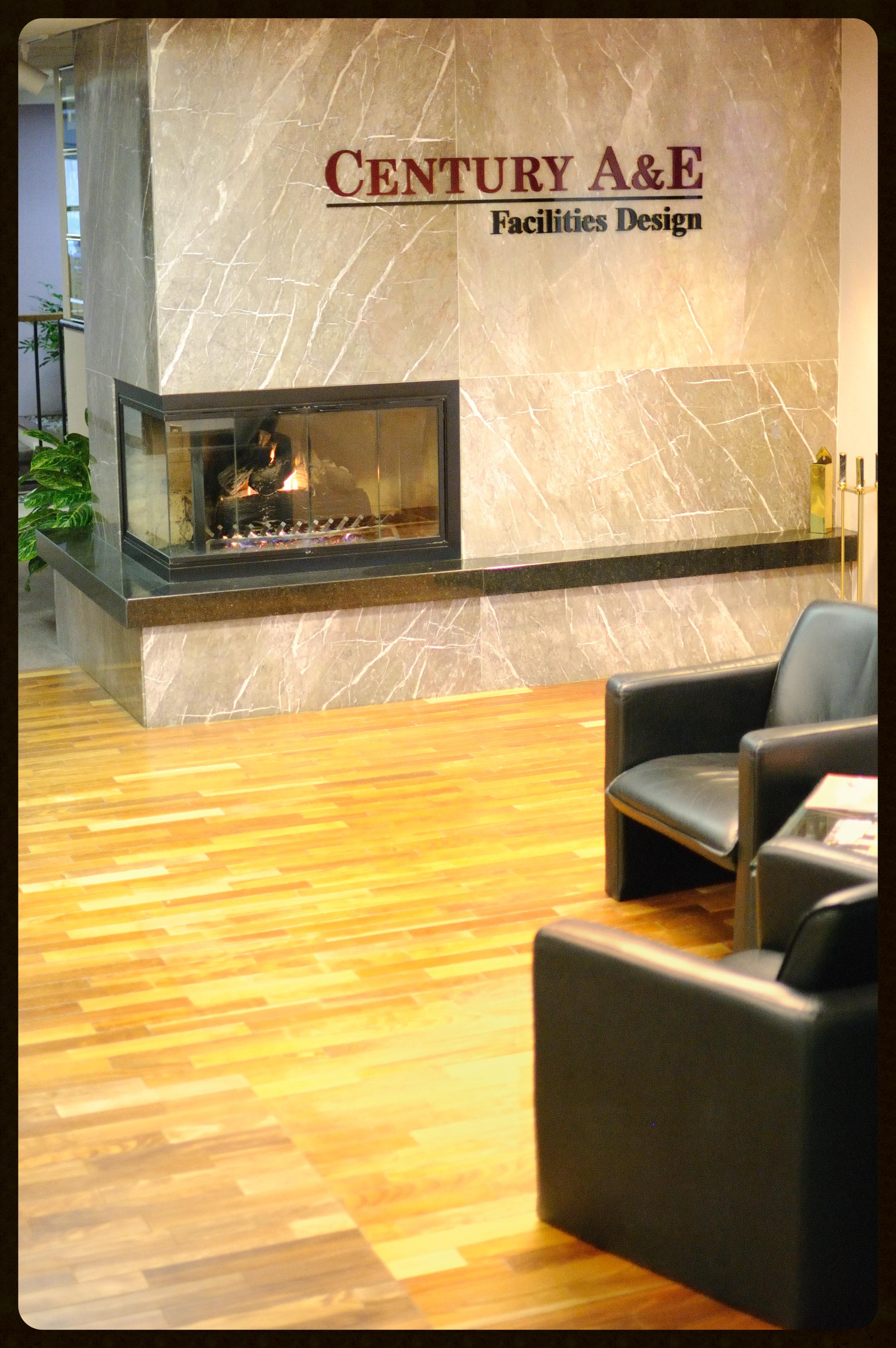 The Century A&E lobby