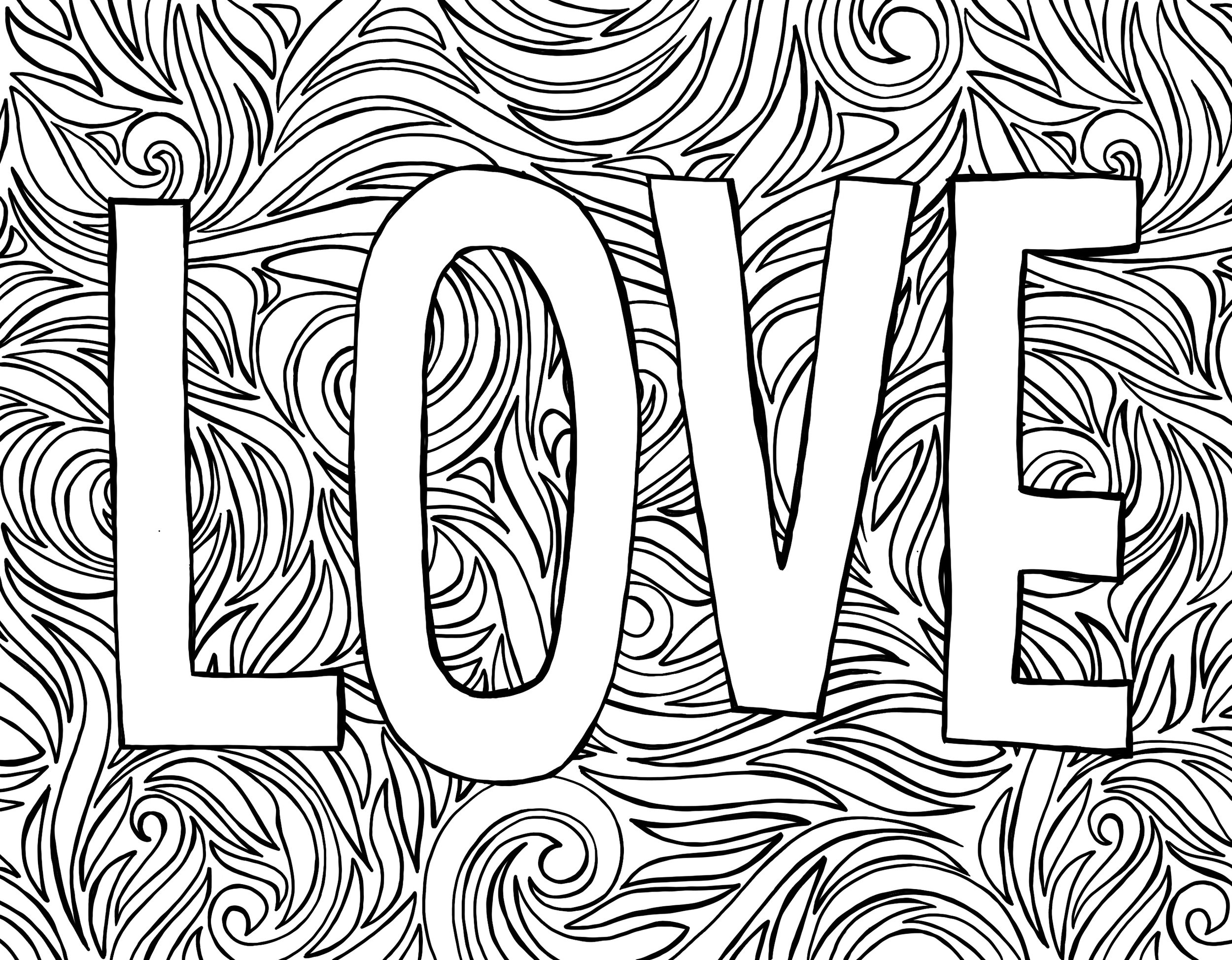 Love_Coloring_Page