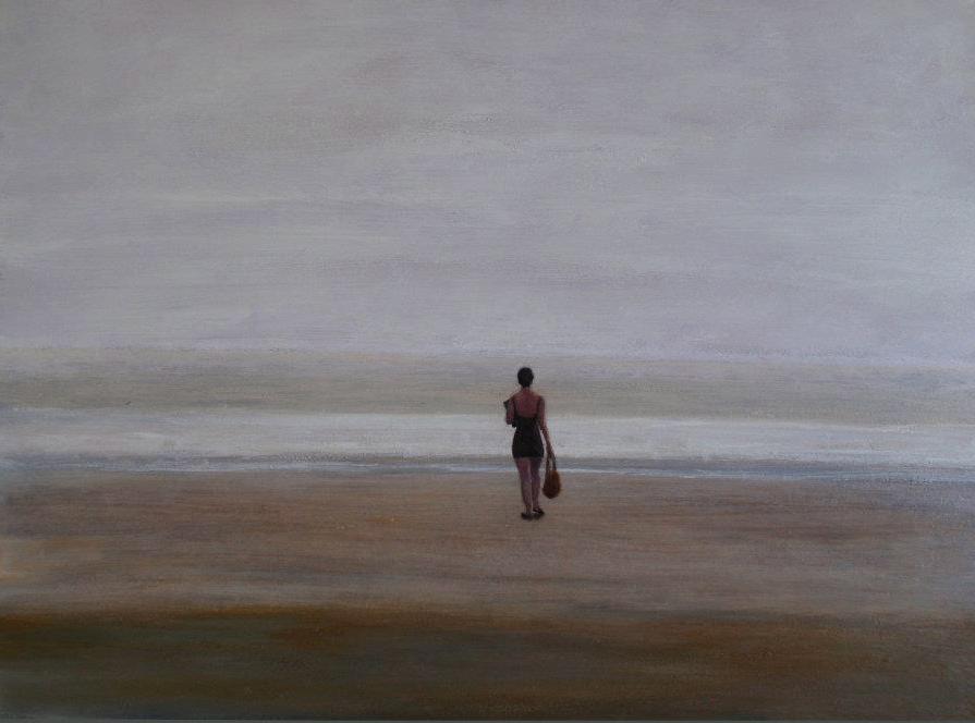 Woman on the Beach by David DeWitt