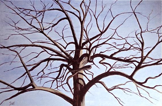 January Tree by David DeWitt