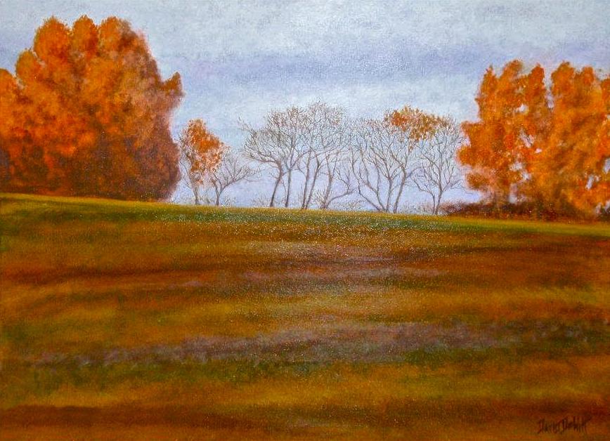 Fall Flame by David DeWitt