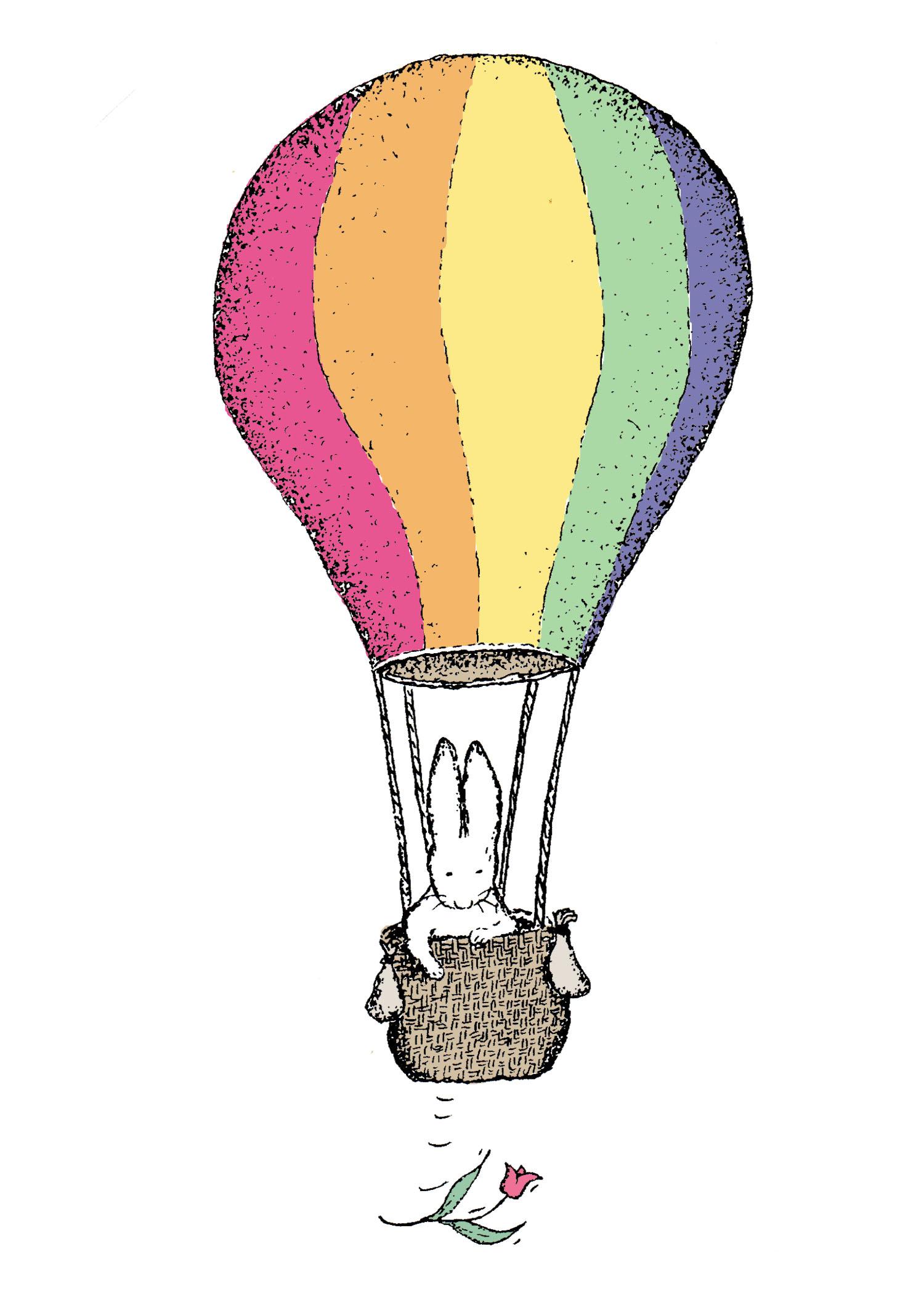 Bunny Balloon by David DeWitt