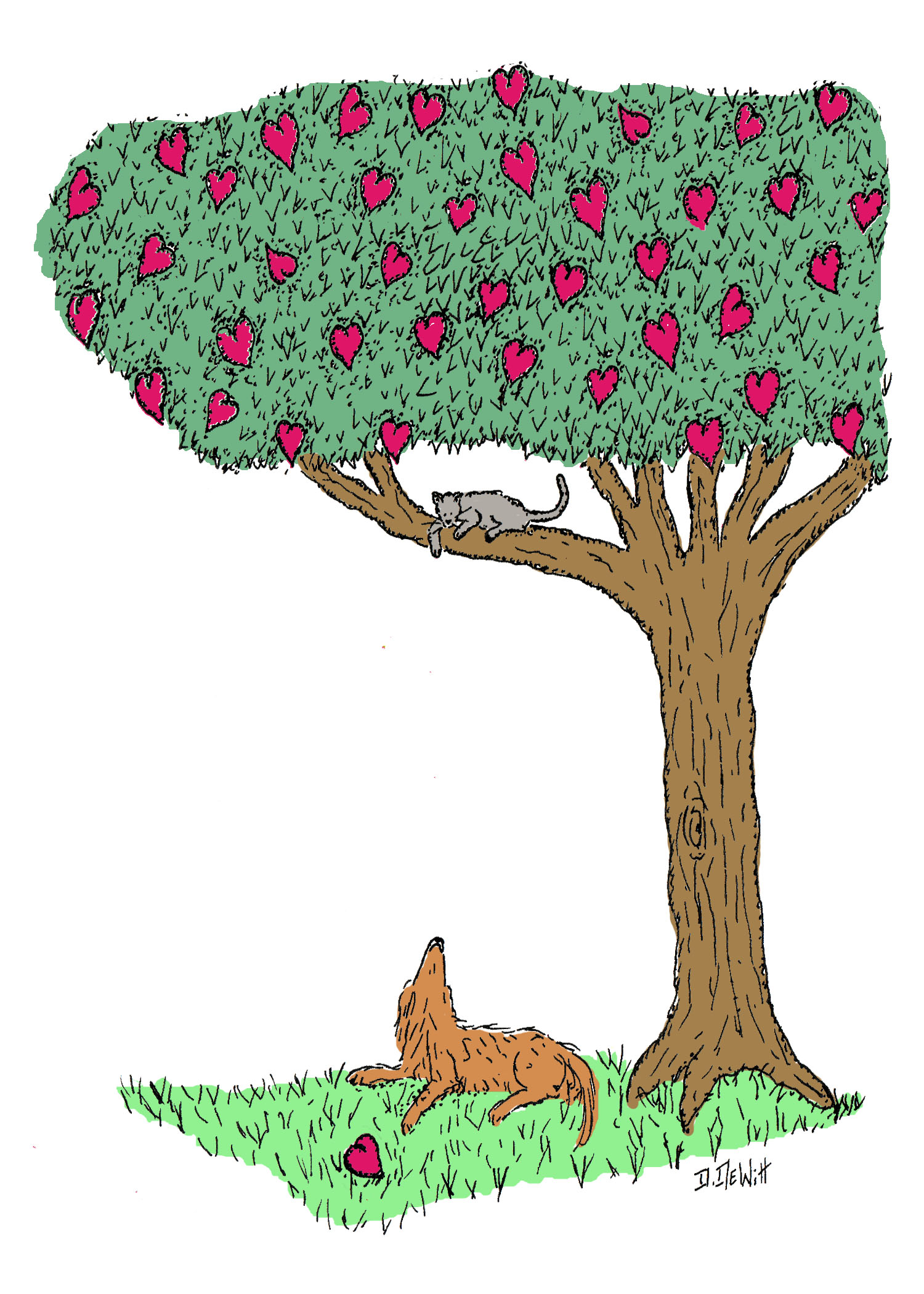 Heart Tree by David DeWitt
