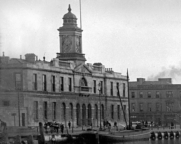 Cork City Hall C.1900 -before the fire - The original City Hall Building before it's burning on Decc11-12 1920