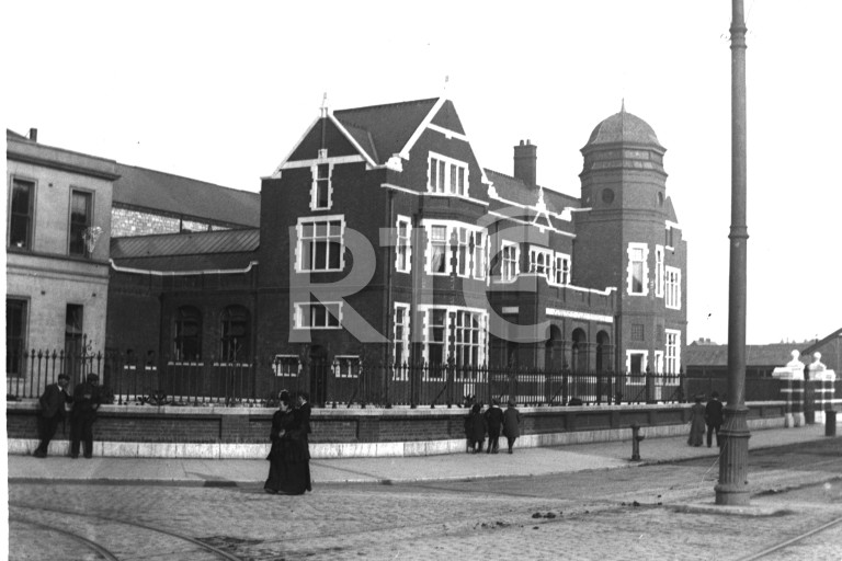 The Carnegie free library. - The Library was beloved of the citizens at the time.