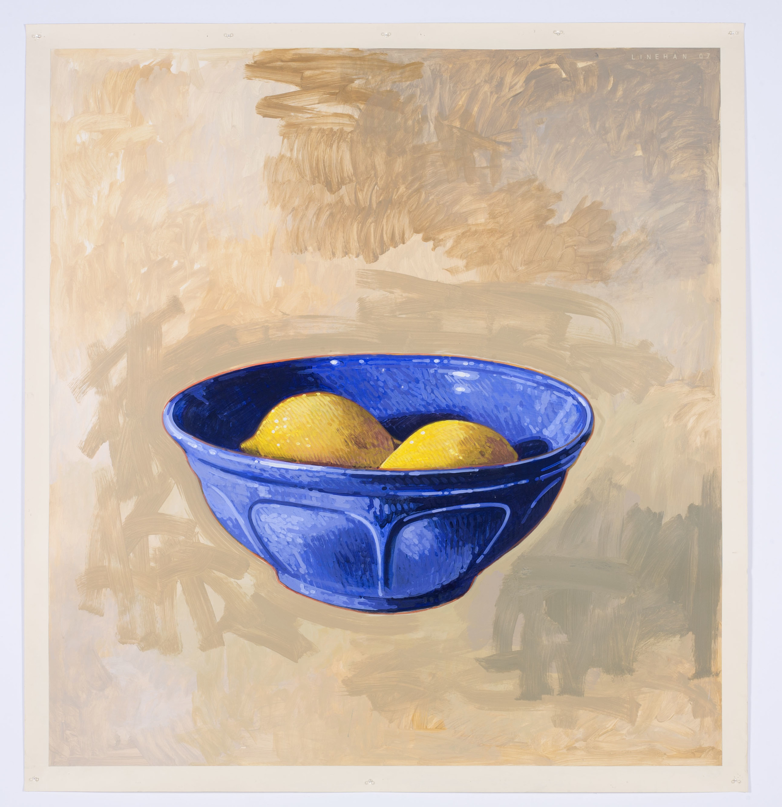 BOWL OF LEMONS
