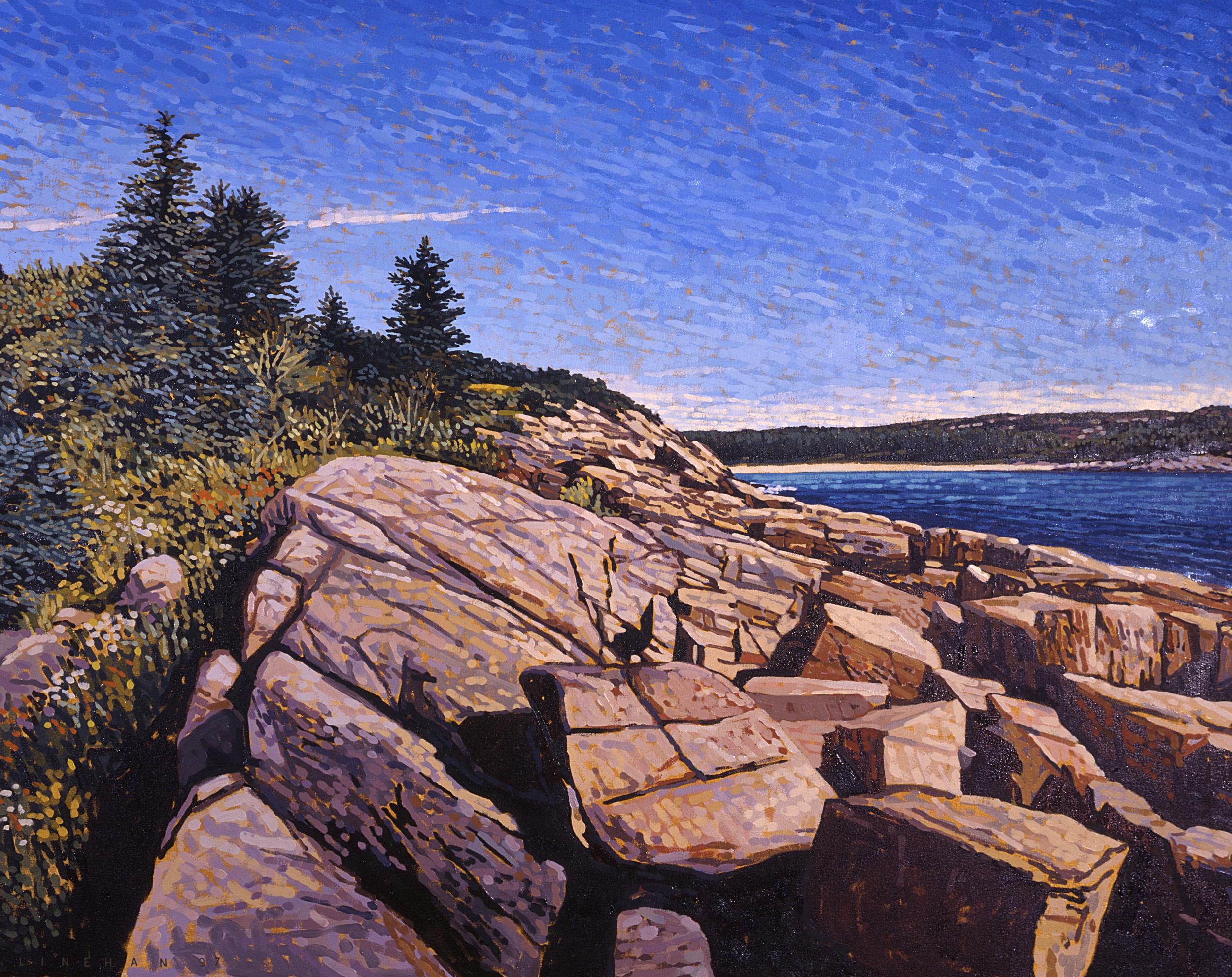 Acadia Facing Sand Beach