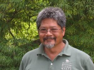 Ben Chu, Horticulture SUPERVISOR at the Japanese garden at the MISSOURI botanic GARDEN
