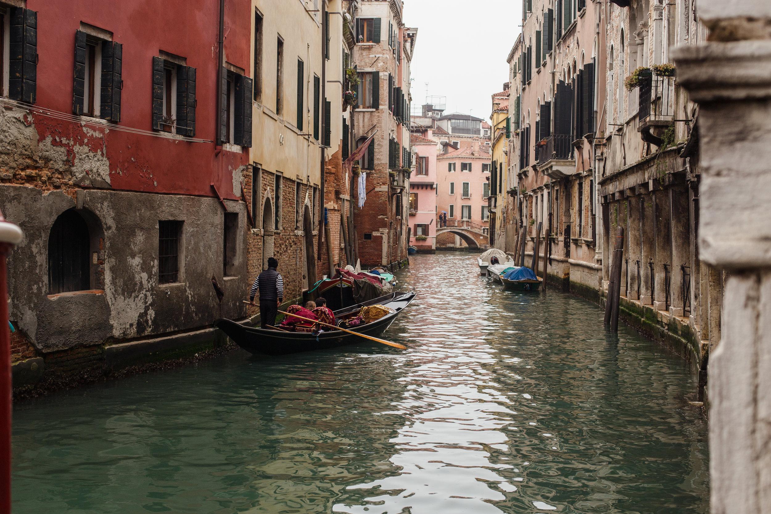 Venice, Italy - March 2018