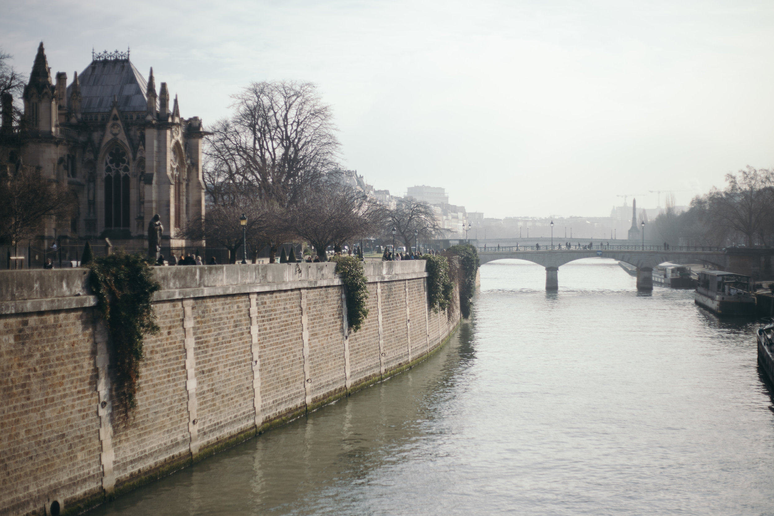48 Hours in Paris, France - Feb 2017
