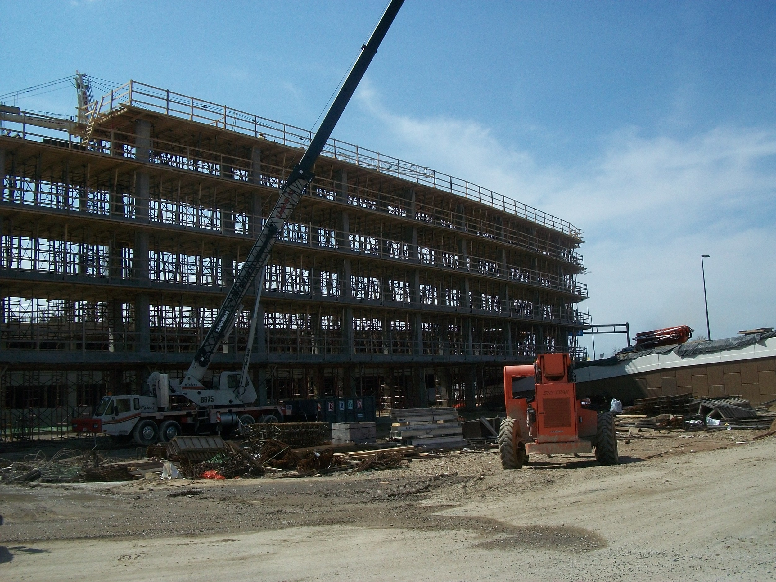 Airport Parking Garage Project