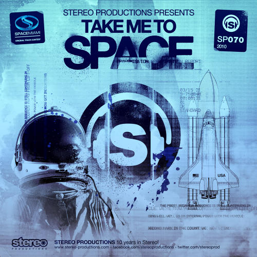 "Dinaire & Bissen ft. David Berkeley ""Take Me To Space (Anthony Ross Terrace Mix) • Stereo Productions • 2011"