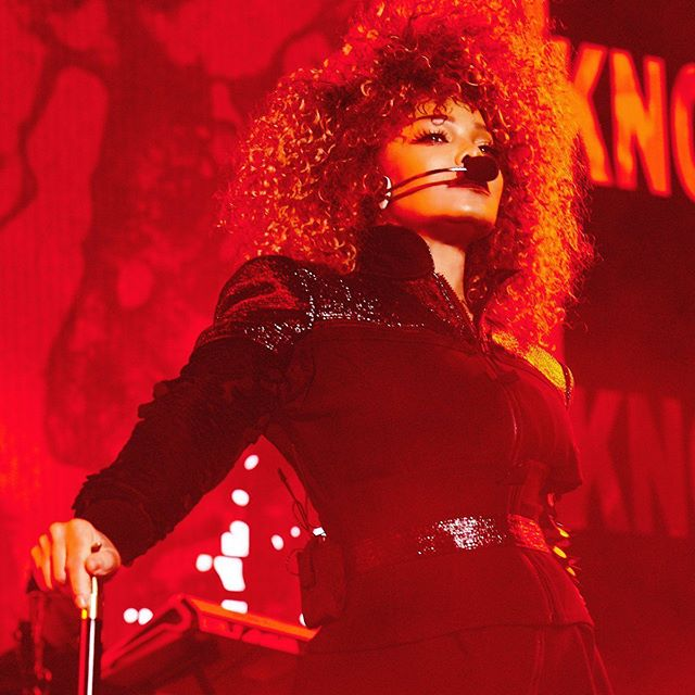 Lady in #red, there would be limited #bop without @janetjackson  happy birthday!!!!