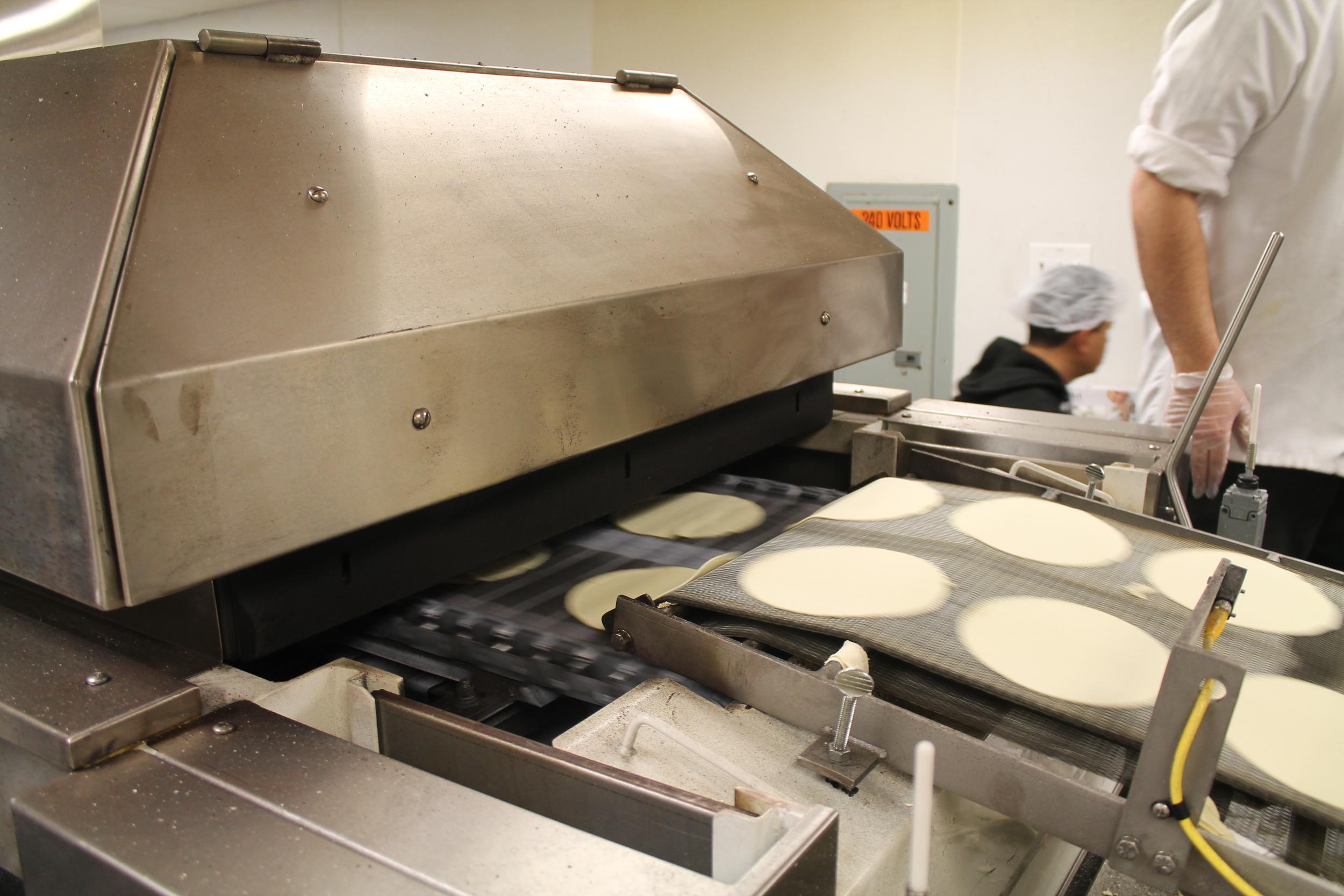 The tortilla press