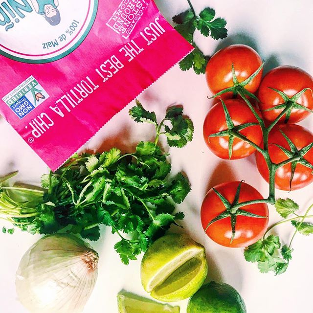 Real ingredients make us Just the Best Tortilla Chip 🍅🌽 #nongmo #glutenfree #nopreservatives #MiNiñaFamily