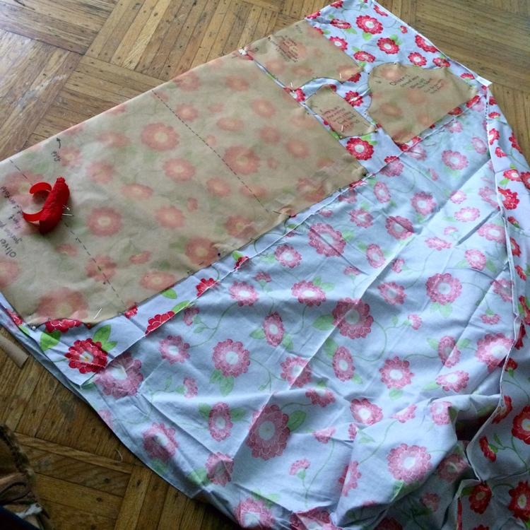 love aunt maggie | poppy dress in progress