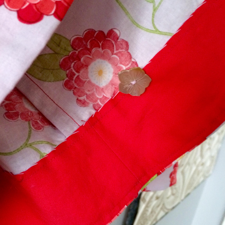 love aunt maggie | poppy dress hem facing