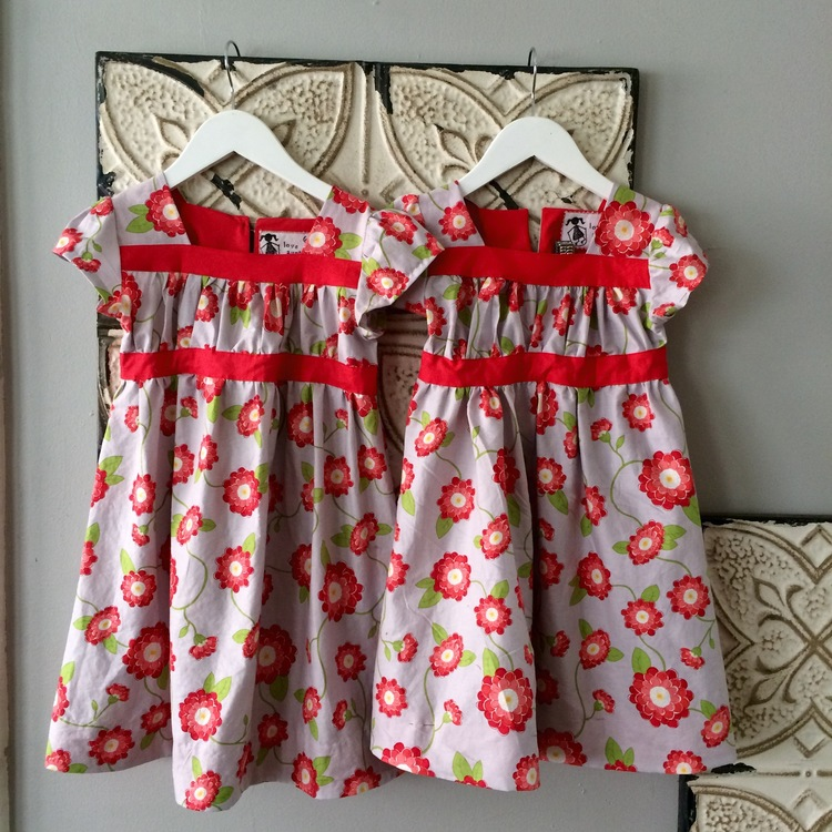 love aunt maggie | poppy dress finished product