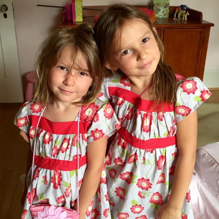love aunt maggie | nora and etta in poppy dress