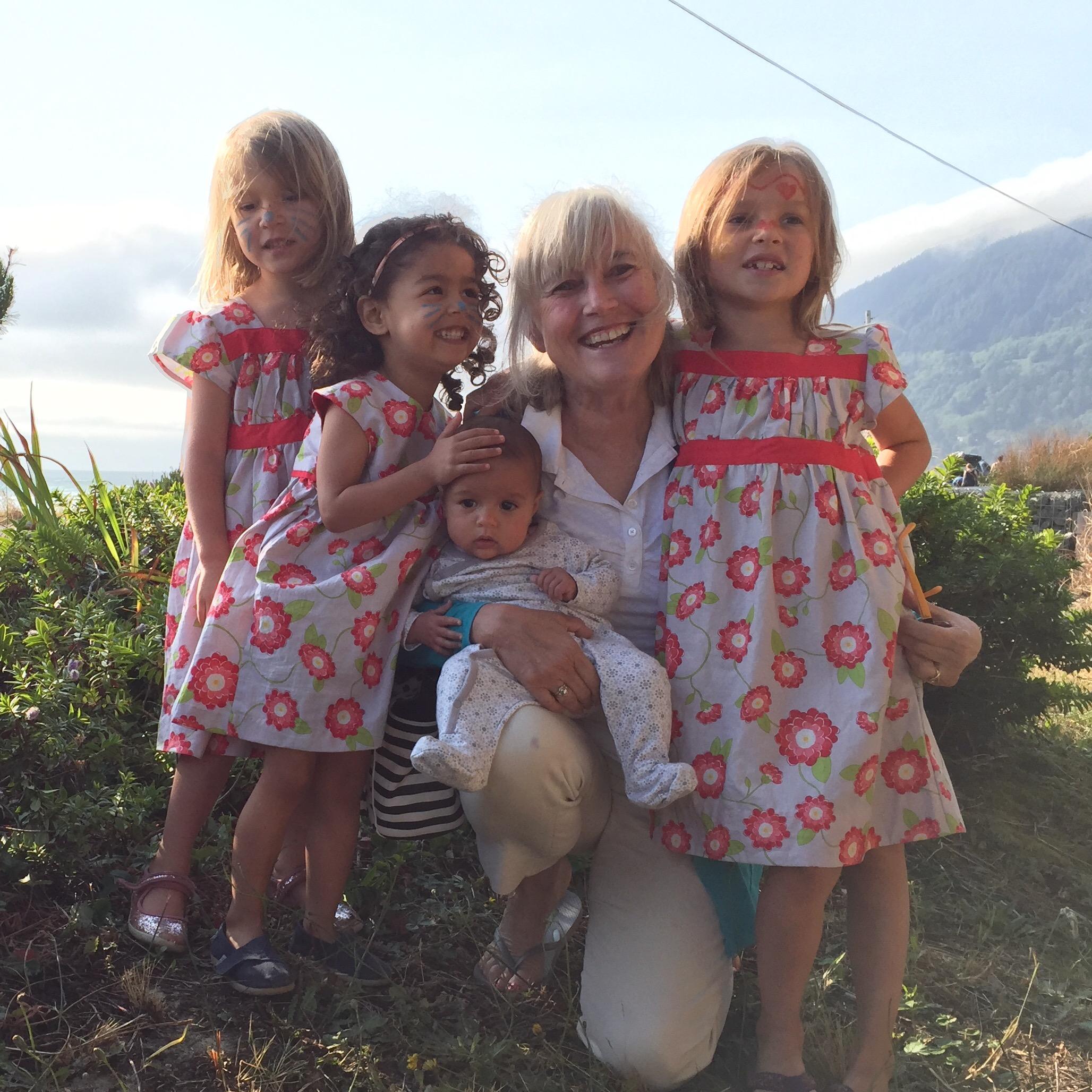 love aunt maggie | girls in their poppy dress