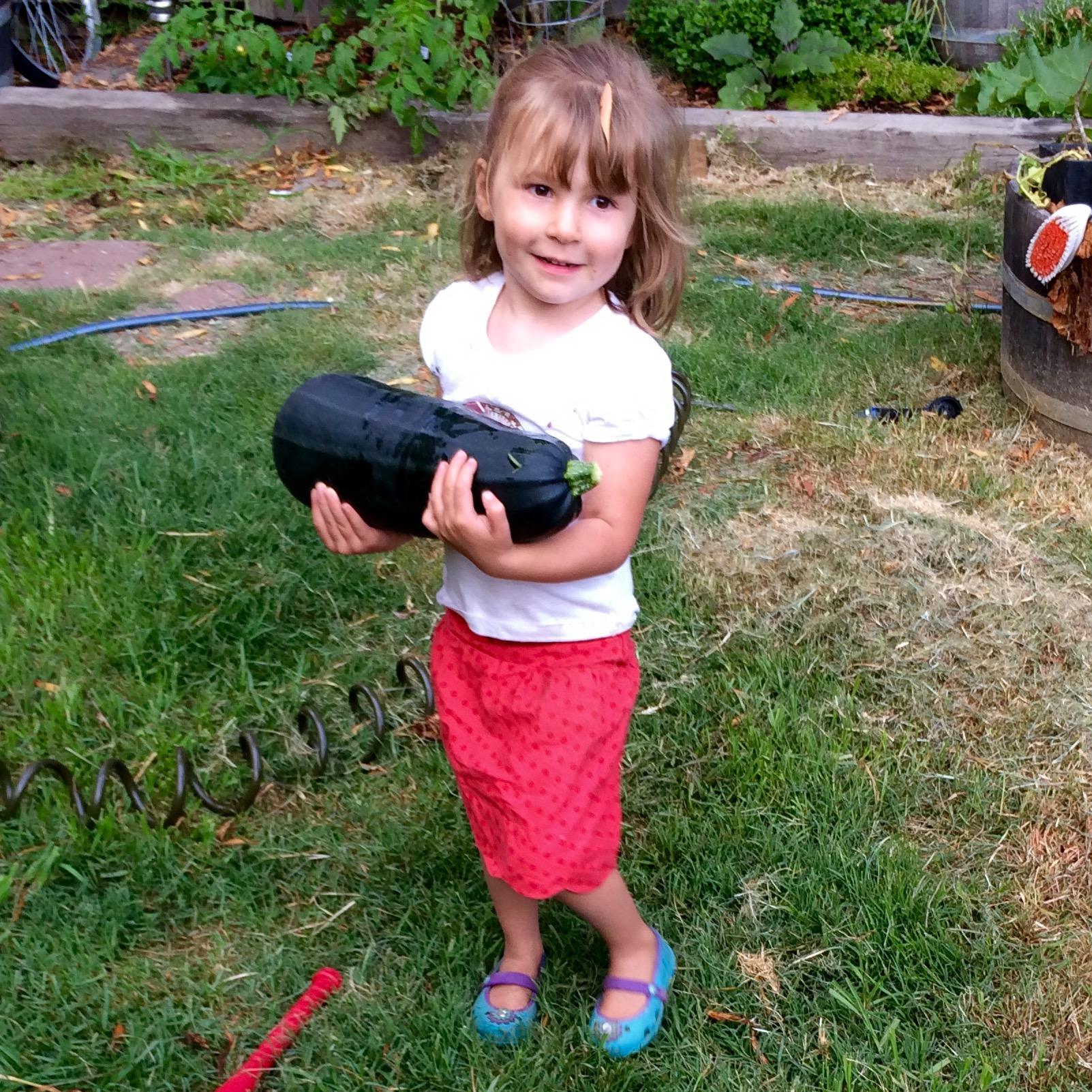 love aunt maggie | badminton skort and zucchini picking