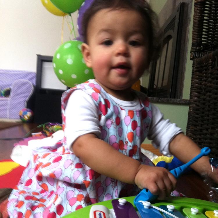 love aunt maggie | maya's first birthday c
