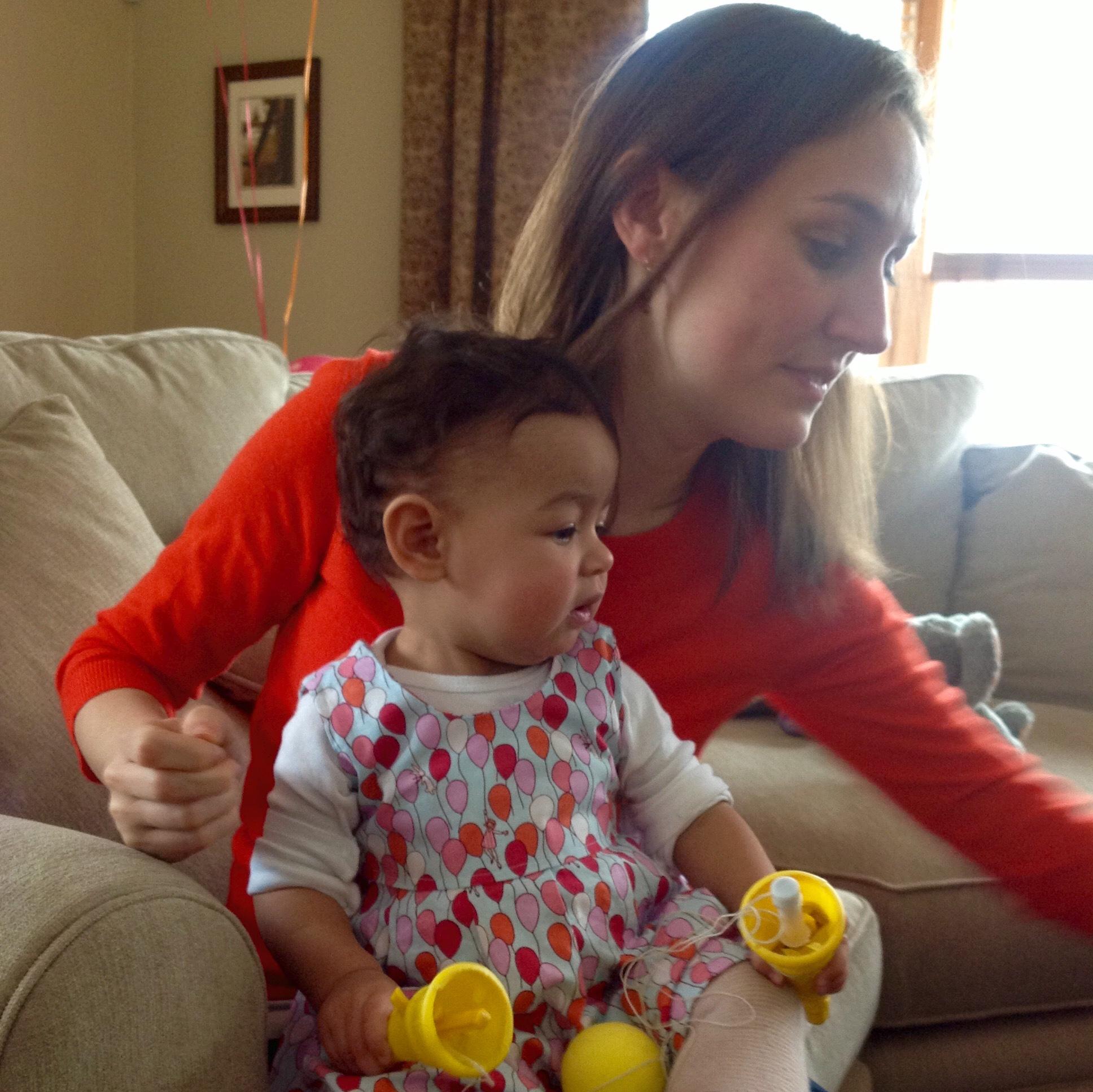 love aunt maggie | maya's first birthday d
