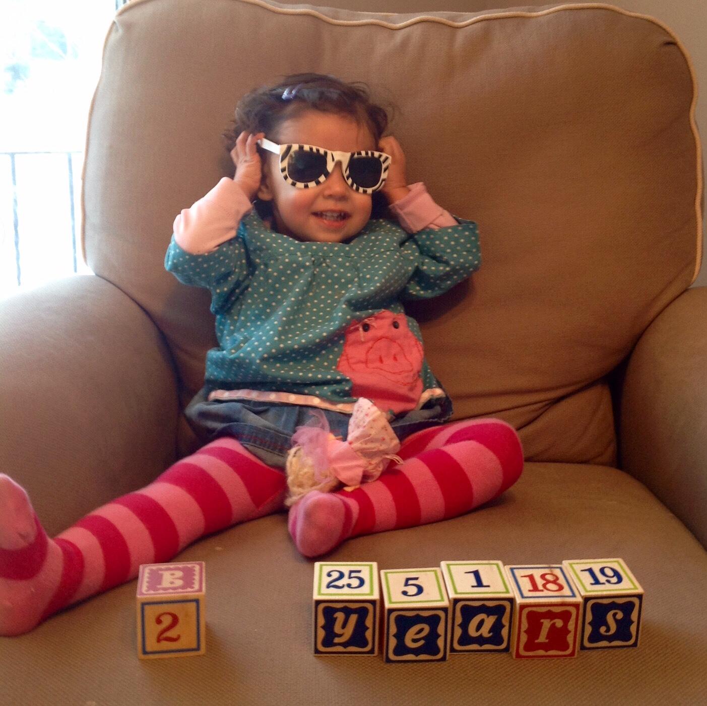 love aunt maggie maya's second birthday