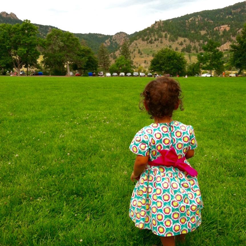 love aunt maggie maya's mountain dress