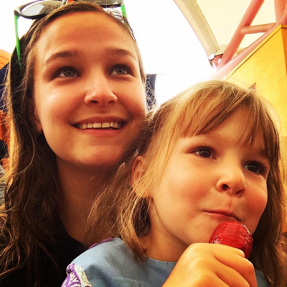 love aunt maggie | etta and maggie at fairy land