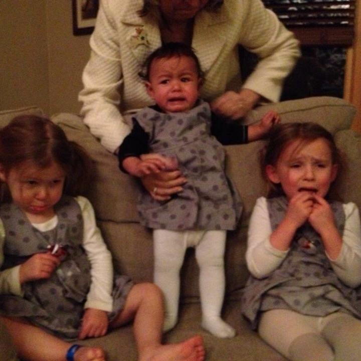 love aunt maggie | music box jumper polka dots