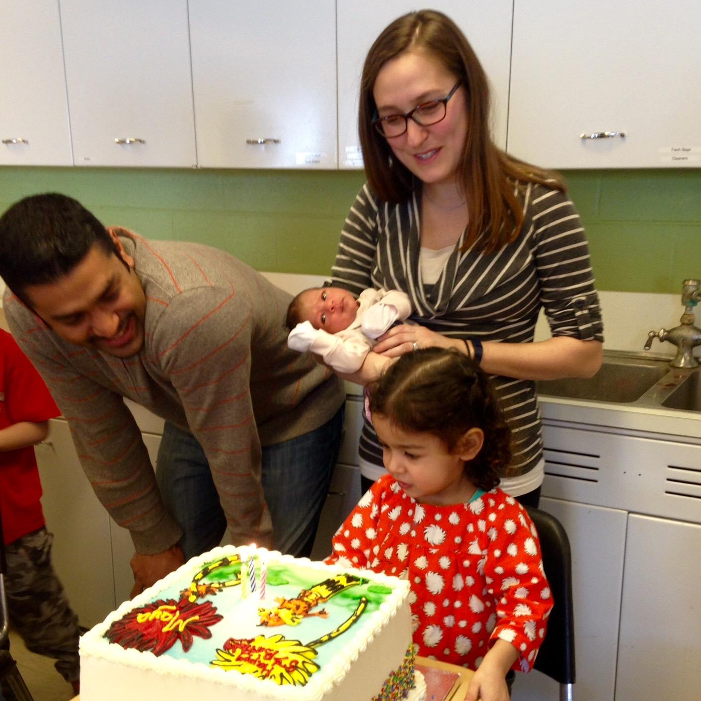 love aunt maggie happy third birthday maya