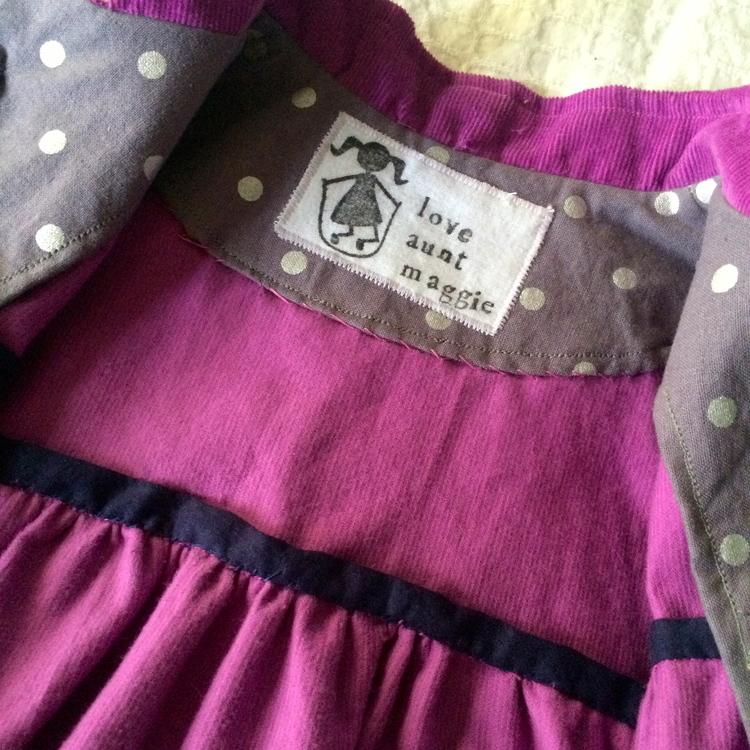 love aunt maggie diy fabric labels
