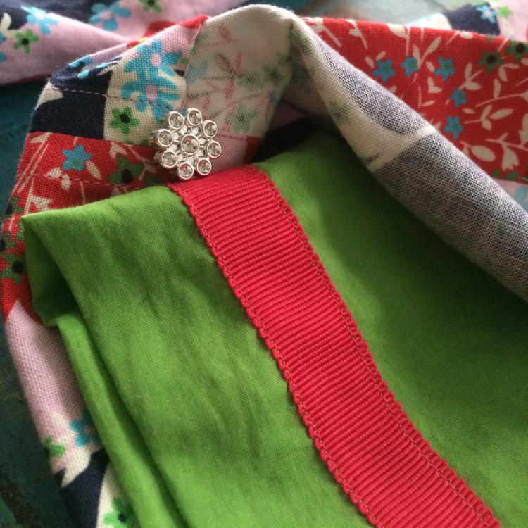 love aunt maggie straight stitch seams