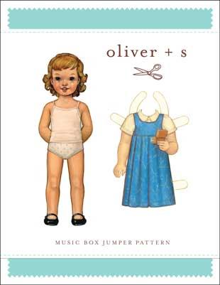 oliver + s   music box jumper