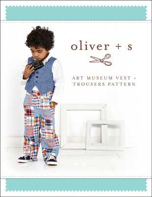 oliver + s   art museum vest + trousers