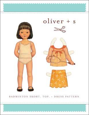oliver + s   badminton skort, top, + dress